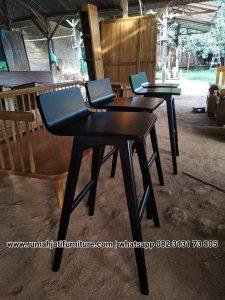 Kursi Bar Minimalis L Kayu Jati