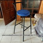 Gambar Kursi Bar Industrial Model Tanduk | RUMAH JATI FURNITURE