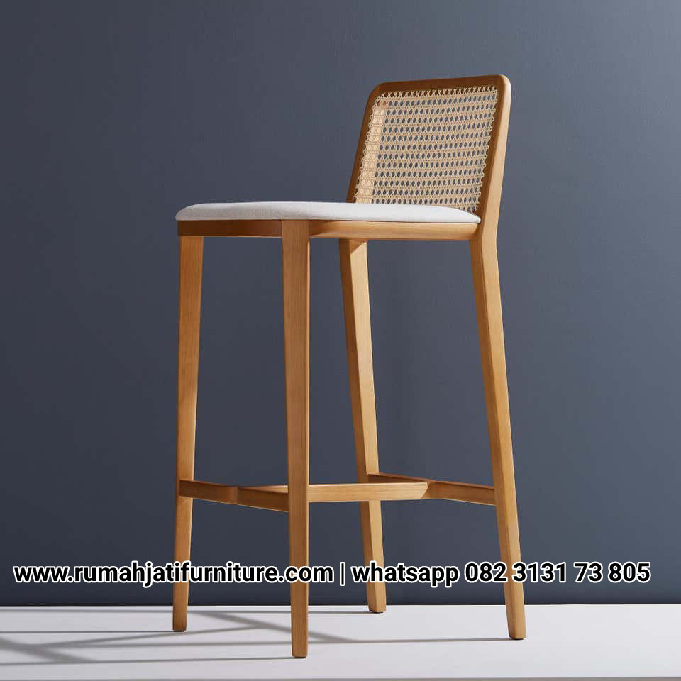Gambar Kursi Bar Sarjana Mebel Natural Rotan | RUMAH JATI FURNITURE