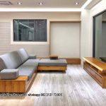 Gambar Set Kursi Tamu Sudut Minimalis Mewah Modern   RUMAH JATI FURNITURE