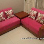 Kursi Sofa Sudut Simpel Minimalis