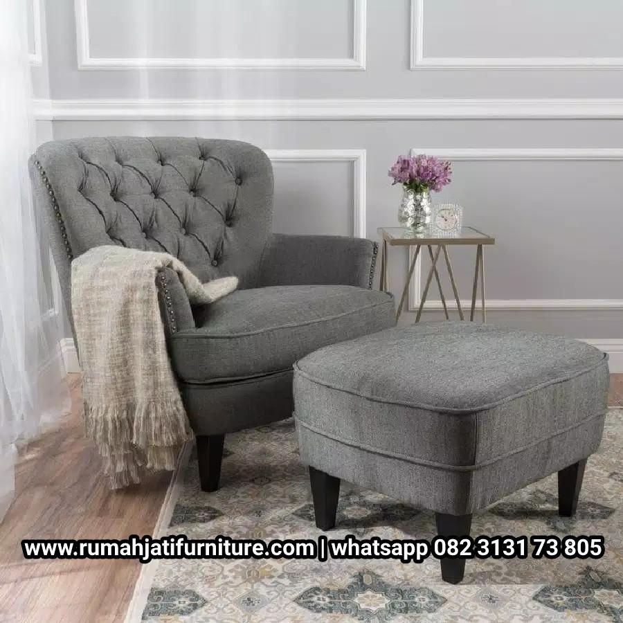 Gambar Sofa Santai dan Puk Ibu Menyusui | RUMAH JATI FURNITURE
