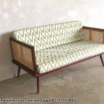 Sofa Rotan Kayu Jati Minimalis
