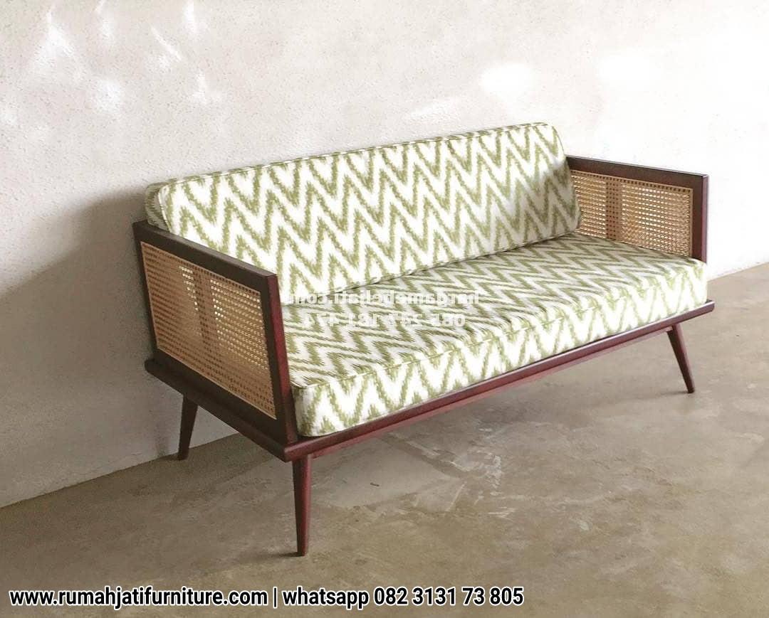 Gambar Sofa Rotan Minimalis Kayu Jati
