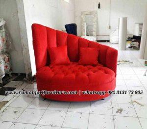 Sofa Single Mewah Kualitas Premium