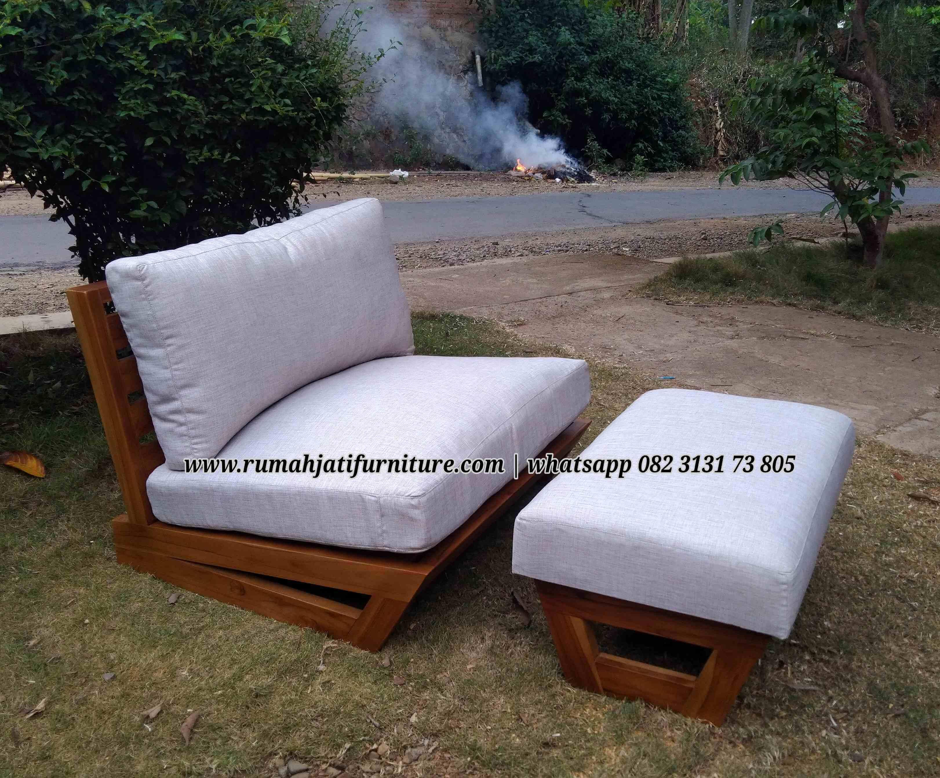 Gambar Sofa Amchair Lesehan Ala Jepang | Rumah Jati Furniture