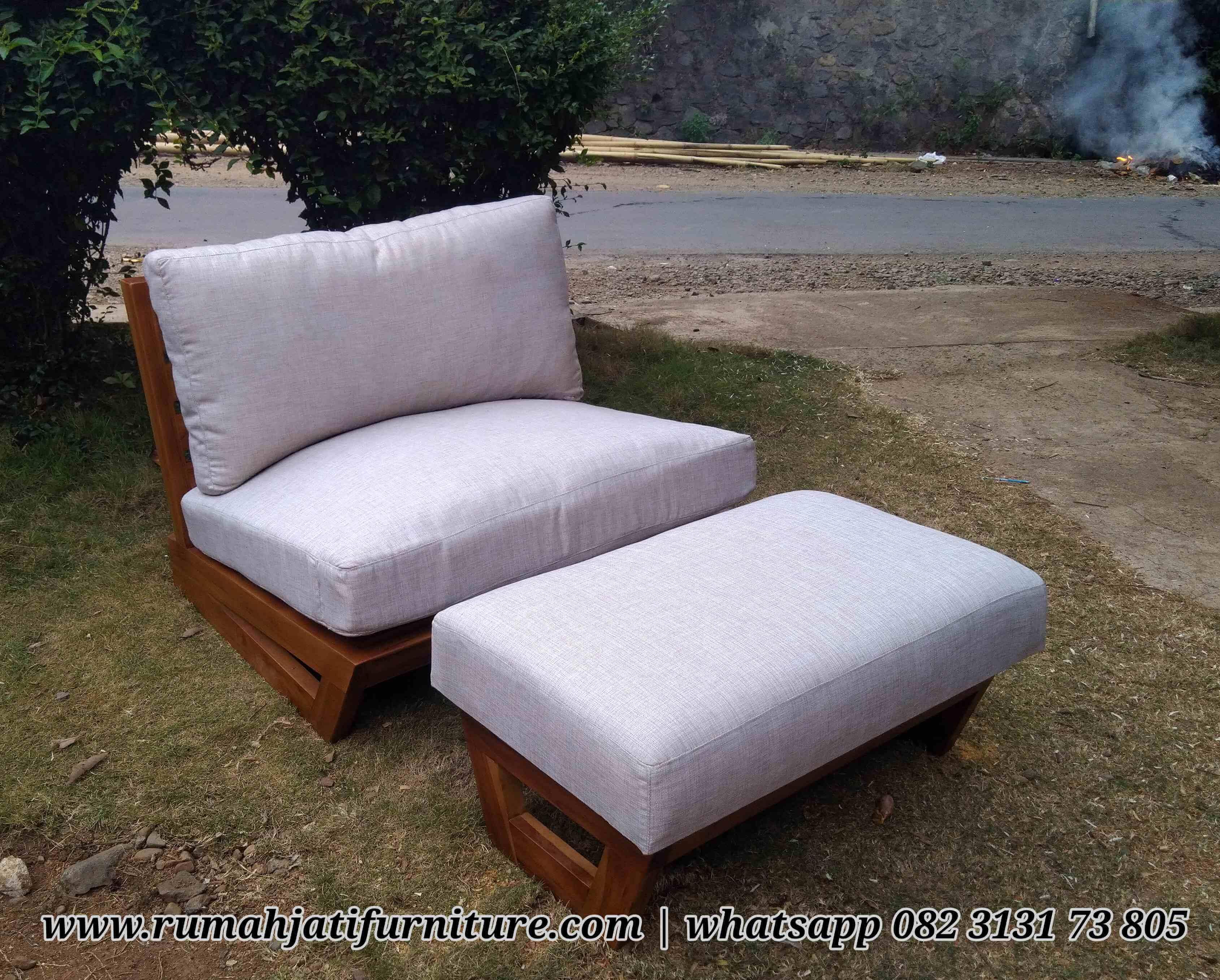 Gambar Sofa Single Lesehan Ala Jepang | Rumah Jati Furniture