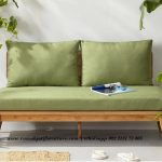 Gambar Bangku Retro Kayu Jati Busa Empuk | Rumah Jati Furniture