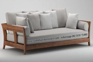 Sofa Bangku Retro Vinatge 3 Seater
