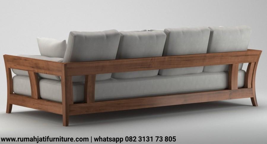 Gambar Sofa Bangku Retro Vintage Kayu Jati | Rumah Jati Furniture
