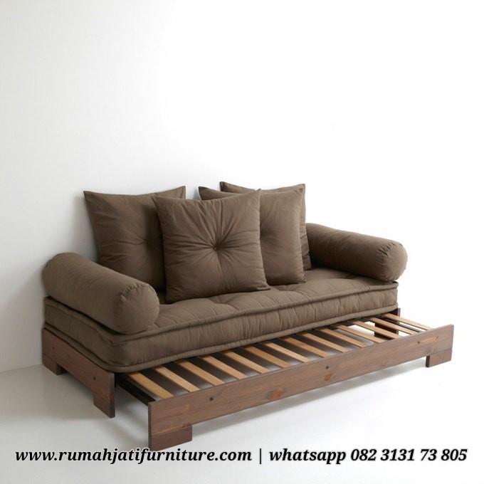 Gambar Sofa Dayed Bale Bale Rangka Kayu Jati | Rumah Jati Furniture