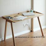 Gambar Meja Belajar Retro Scandinavian | Rumah Jati Furniture
