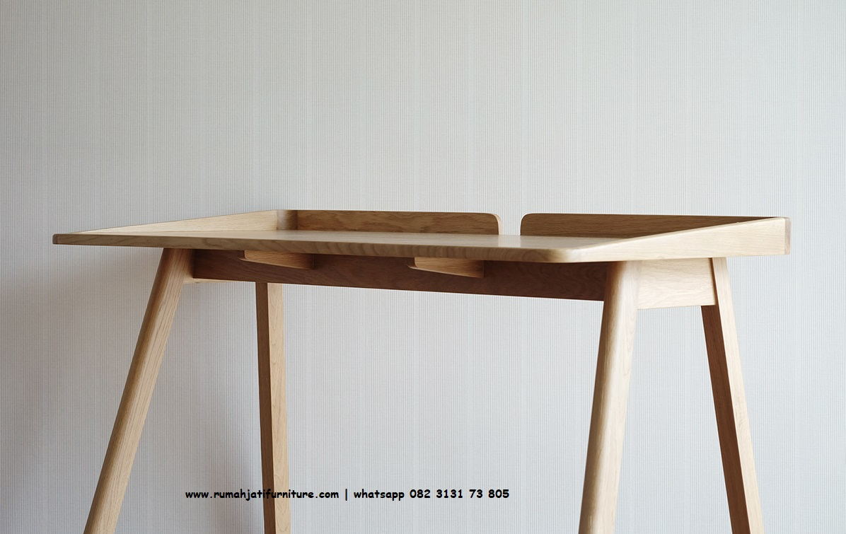 Gambar Meja Belajar Roob Retro | Rumah Jati Furniture